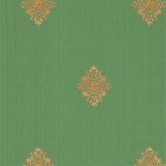 Filigree 310445 Empire Green zoffany. Hall wallpaper