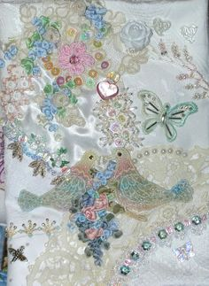 Сумасшедший Лоскутное и вышивки Блог Памела Келлог Китти и Me Designs: лоскутное Свадебный Кошелек