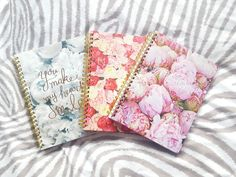 Peony Spiral Notebook | Chapters Indigo Collective Haul!! - jennibearrxo