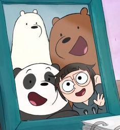 we bare bears Cute Panda Wallpaper, Funny Phone Wallpaper, Bear Wallpaper, Disney Wallpaper, We Bare Bears Wallpapers, Panda Wallpapers, Cute Cartoon Wallpapers, Bear Cartoon, Cartoon Tv