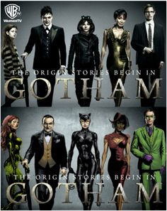 The origins of Gotham's 4 biggest villains: Ivy (Poison Ivy), Oswald Cobblepot (Penguin), Selina (Catwoman), & Edward Nigma (Riddler) | Gotham FOX