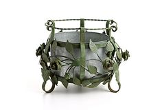Antiqued Iron Planter