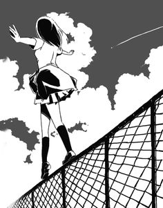 manga art black and white Anime Triste, Dark Anime, Anime Negra, Sad Anime Girl, Anime Girls, Anime Girl Crying, Sad Drawings, Sad Art, Sad Girl Art