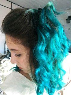 blue hair; turquoise #hair