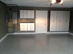 Basement Laundry Room Makeover Concrete Floors