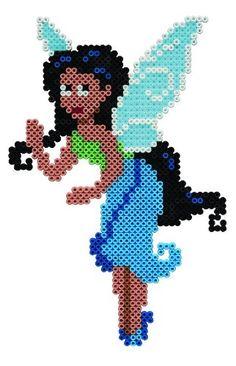 Silvermist Tinker Bell hama beads