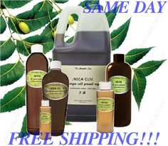 Neem Oil 100% Pure by Dr. Adorable  Cold Pressed Oil You Pick Size Free Shipping #DRADORABLE