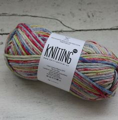 Algodon Knitting Point Splash