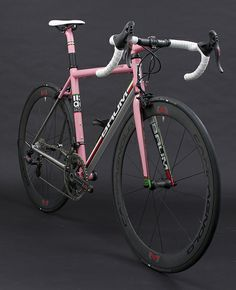 Busyman bartape & recovered saddle on: GT-AC Custom, Rapha Pink, Custom Green, Sram Red, Satin Pearl White, Corretto