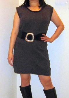 Refashion Co-op: Re-Refashion: Star Trek Romulan dress no more!