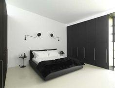 15 fotos e ideas para decorar un dormitorio moderno en blanco y negro. | Mil…