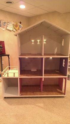 1000 ideas about homemade barbie house on pinterest for Dream house days furniture