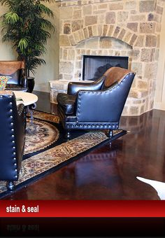 Great Stain And Seal, Acid Stain, Decorative Concrete   Boerne, San Antonio TX