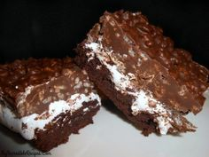 Brownie BOMB Bars! Thinking maybe Nutella instead of Pb in topping