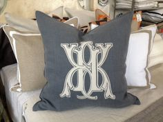 Bungalow Blue Interiors - Home - monograms by no. four eleven