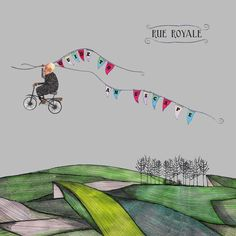 Rue Royale is an Anglo-American Alternative-Indie-Folk band. Musik Illustration, Graphic Illustration, Cover Art, Music Sites, Music Artwork, Illustrations And Posters, Album Covers, Design Art, Folk