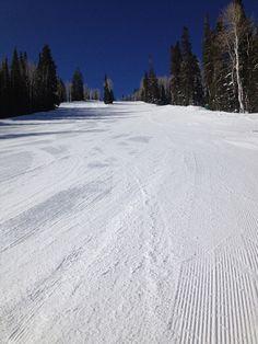 Making first tracks at Deer Valley  http://www.weekendwomanwarrior.com/outdoor-space/