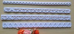 Cheap flower lace trim, Buy Quality free lace scarf knitting pattern directly from China lace slim Suppliers: New Straight Frill Cutter Embossed Mold Heart, Flower, Lace ShapeItem descriptionMaterial: PlasticWeight:66g