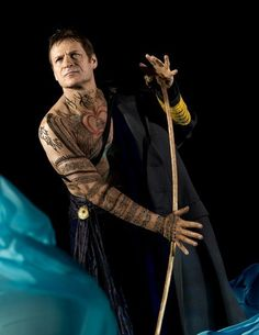 Simon Keenlyside as Prospero in Thomas Adès' The Tempest. Directed by Robert LePage.