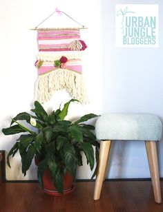 Urban Jungle Bloggers: Plants & Art by @crisvintage