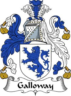 Galloway Family Crest of Scotland