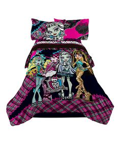 Another great find on #zulily! Monster High Right to Fright Comforter by Monster High #zulilyfinds