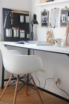 Cette chaise serait parfaite pour mon futur bureau/coiffeuse malheureusement je ne sais pas où la trouver...