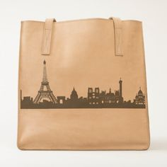 """Paris"" Leather Tote is perfect for the traveler! May be personalized! The Adventure Collection developed in collaboration with Ubuntu Made, empowering Kenyan women to build stronger communities through sustainable businesses."