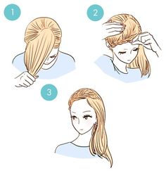 quick hairstyle in 3 minutes- wonderful diy4