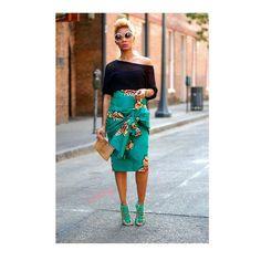 ankara stil The Most Stylish Ankara Skirt Styles in Vogue African Fashion Designers, African Inspired Fashion, African Print Fashion, Africa Fashion, Fashion Prints, African Prints, African Wear, African Attire, African Women