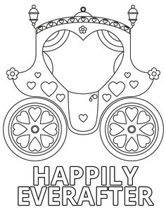 Wedding Coloring Book Pages | Home > Weddings > Happily Ever After