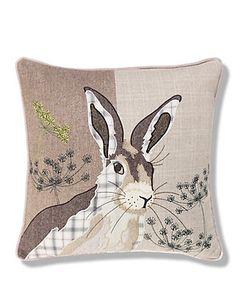 Hermione Hare Print Cushion Home