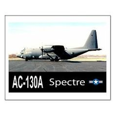 C-130 SPECTRE GUNSHIP Small Poster> C-130 SPECTRE Spooky GUNSHIP> Zoom Wear #Aircraft #Posters
