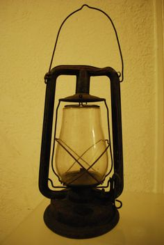 Antique Kerosene Lantern Oil Lamp PAULL'S by 11Eleven11Eleven11, $150.00