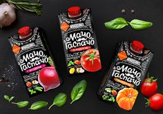 This Gazpacho Packaging Is Inspired By The Chalkboard Lettering Found in Cafes — The Dieline | Packaging & Branding Design & Innovation News