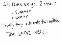 Stupid bipolar weather