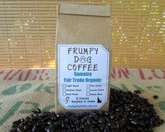 Sumatra Fair Trade Organic, Roasted Coffee, Single Origin Coffee, Fresh Roasted Coffee