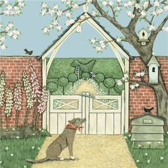 Lych Gate by Sally Swannell