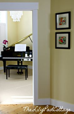 Music Room Decor by The Lilypad Cottage