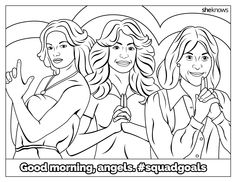 The Ultimate #SquadGoals Coloring Book — print it, color it, live it: These are the squads we really envy