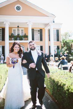 Lauren & Bobby's Southern Oaks Plantation Wedding|Photo by: bflint.com