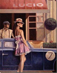 Peregrine Heathcote, óleo sobre lienzo.