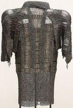 Persian zirh gomlak also:(zirah baktar/bagtar), a mail and plate shirt.