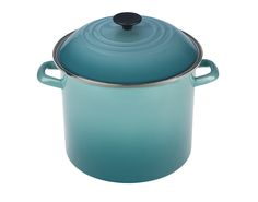 This enamel-on-steel pot holds a whopping 12 quarts, a.k.a. no more pain-in-the-ass 2-pot soup events!