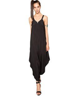 Black Harem Jumpsuits - Boho Party Jumpsuit - $109