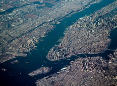 Manhattan: DCA>BOS by @Debbie Dimick, via Flickr