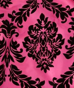 Baroque Raspberry Flocked- Available exclusively through Premiere Party Central South: (512) 292-3900 North: (512) 870-8552