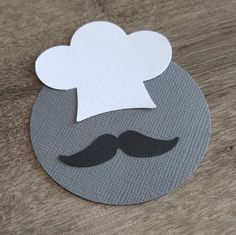25 Chefs Hat & Mustache Confetti / Small Moustache Confetti / Party Prop / Baby Boy Announcement / Movember / Embellishment / Die Cut by TheKraftyHipster on Etsy https://www.etsy.com/listing/271506002/25-chefs-hat-mustache-confetti-small