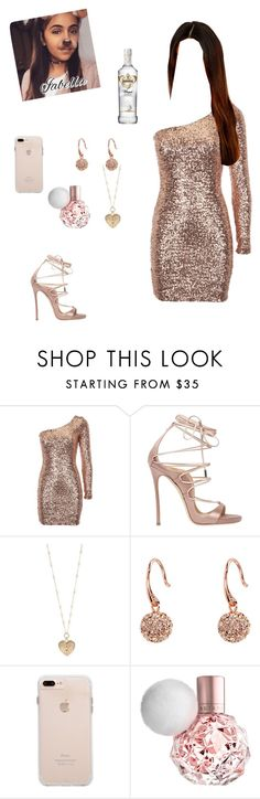 """Untitled #483"" by vgrenalde ❤ liked on Polyvore featuring Lipsy, Dsquared2, Betsey Johnson, Vera Bradley and Une"