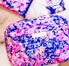 Lilly Pulitzer Travel Cosmetic Pouch